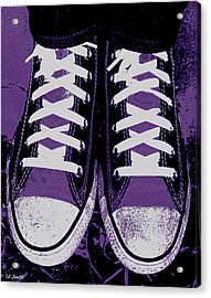 Pumped Up Purple Acrylic Print by Ed Smith