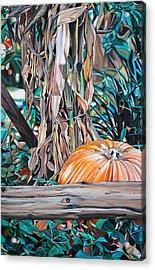 Pumpkin Acrylic Print by Anthony Mezza