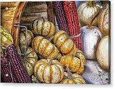 Pumpkin Basket Acrylic Print