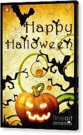 Pumpkin Acrylic Print by Mo T