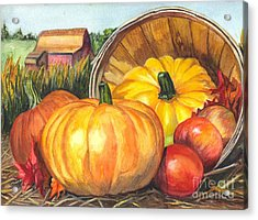 Pumpkin Pickin Acrylic Print