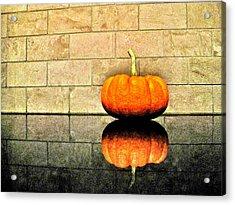 Pumpkin Still Life Acrylic Print