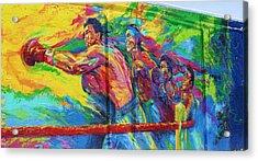 Punch Acrylic Print by Chuck  Hicks
