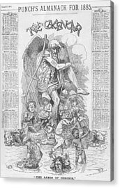 Punch's Almanack For 1885 Acrylic Print