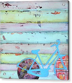 Punctured Bicycle Acrylic Print