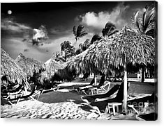 Punta Cana Choices Acrylic Print by John Rizzuto