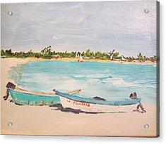 Punta Cana Acrylic Print