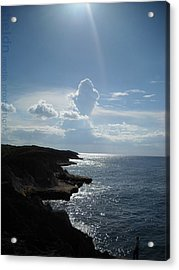 Acrylic Print featuring the photograph Punta Marchaquita by Daniel Sheldon