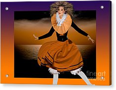 Puppet Show Acrylic Print by Angelika Drake