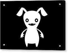 Puppy Boo Acrylic Print by Chastity Hoff