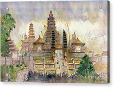 Pura Besakih Bali Acrylic Print