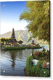 Pura Ulun Danu Bratan, Bali Acrylic Print by Afriandi