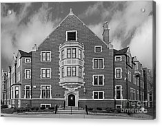 Purdue University Duhme Residence Hall Acrylic Print by University Icons