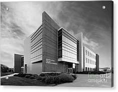Purdue University Jischke Hall Of Biomedical Engineering Acrylic Print by University Icons