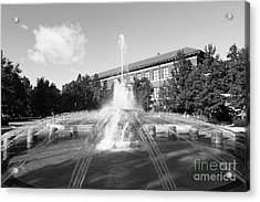 Purdue University Loeb Fountain Acrylic Print