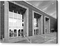 Purdue University Stewart Center Acrylic Print by University Icons