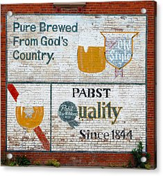 Pure Brewed Acrylic Print by Jame Hayes