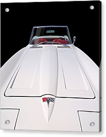 Pure Enjoyment - 1964 Corvette Stingray Acrylic Print by Gill Billington