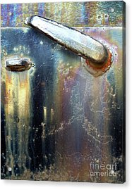 Acrylic Print featuring the photograph Pure Patina by Newel Hunter
