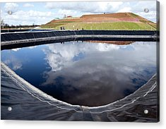 Purifying Water From Landfill Sites Acrylic Print