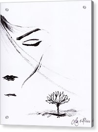 Purity Acrylic Print by Len YewHeng