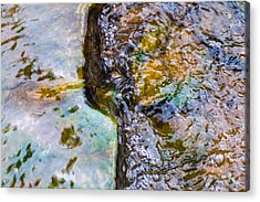 Purl Of A Brook 2 - Featured 3 Acrylic Print