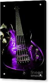 Purple Axe  Acrylic Print by Rob Hawkins