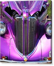 Purple Beauty Acrylic Print