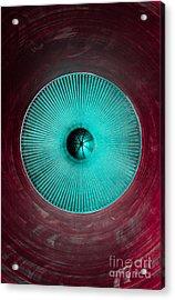 Purple Chamber Acrylic Print by Dan Julien