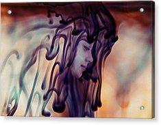 Purple Existence Acrylic Print