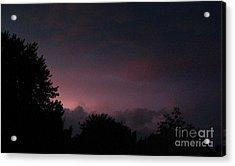 Purple Haze After Storm Acrylic Print by Gail Matthews