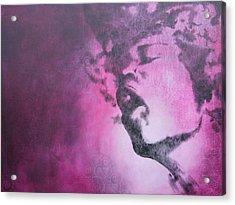 Purple Haze Acrylic Print by Bitten Kari