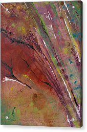 Purple Haze Acrylic Print by Denise Peat