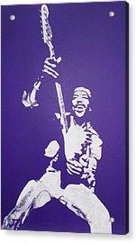 Purple Haze Acrylic Print by Gary Hogben