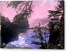 Purple Haze Acrylic Print by Marty Koch