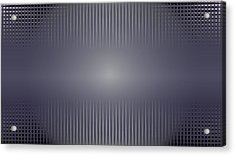 Purple Horizon Acrylic Print