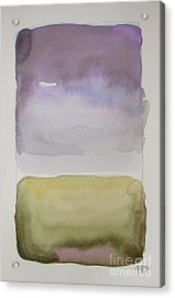 Purple Morning Acrylic Print by Vesna Antic