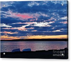 Purple Night Acrylic Print