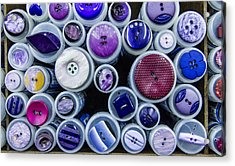 Purple Palate Acrylic Print by Jean Noren