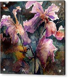 Garden Study Acrylic Print by John Mabry