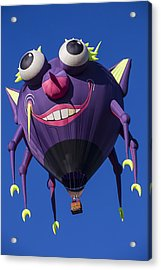 Purple People Eater Acrylic Print by Garry Gay