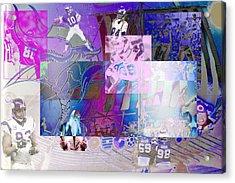 Purple People Eaters Acrylic Print by Jimi Bush