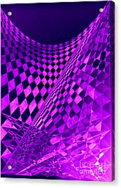 Purple Perspectives Acrylic Print
