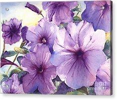 Purple Profusion Acrylic Print