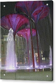 Purple Reign Texas Christian University Acrylic Print