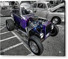 Purple Rod 001 Acrylic Print by Lance Vaughn