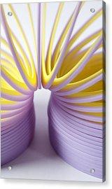 Purple Spring Acrylic Print by Kenneth Feliciano