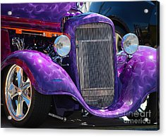 Purple Street Rod Acrylic Print