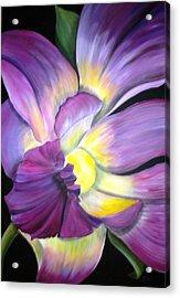 Purple Tropical Acrylic Print