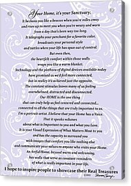 Purpose Statement  Acrylic Print
